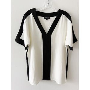 DKNY Blouse Relaxed Fit Chic